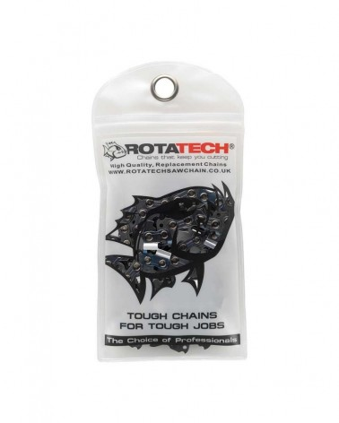 Rotatech A0 49 Drive Links Low Profile Semi-Chisel Chainsaw Chain