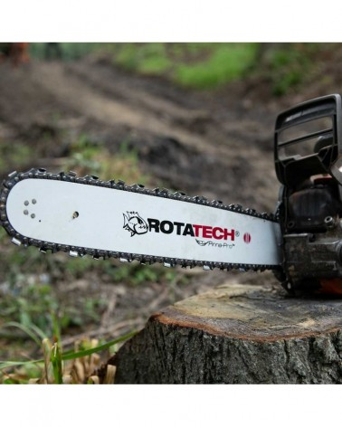 Rotatech A0 36 Drive Links Low Profile Semi-Chisel Chainsaw Chain